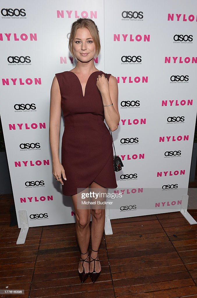 Actress <a gi-track='captionPersonalityLinkClicked' href=/galleries/search?phrase=Emily+VanCamp&family=editorial&specificpeople=574784 ng-click='$event.stopPropagation()'>Emily VanCamp</a> attends the NYLON September Issue Party hosted by NYLON, ASOS and <a gi-track='captionPersonalityLinkClicked' href=/galleries/search?phrase=Emily+VanCamp&family=editorial&specificpeople=574784 ng-click='$event.stopPropagation()'>Emily VanCamp</a> at The Redbury Hotel on August 24, 2013 in Hollywood, California.