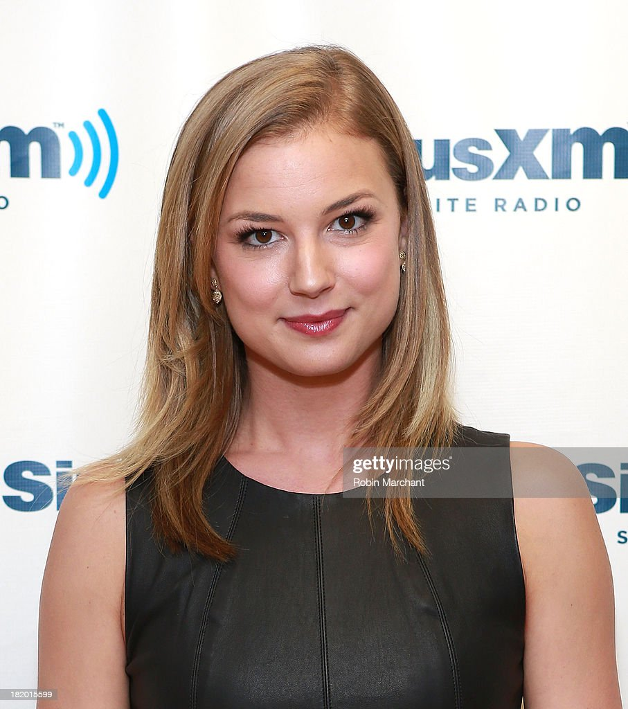 Actress <a gi-track='captionPersonalityLinkClicked' href=/galleries/search?phrase=Emily+VanCamp&family=editorial&specificpeople=574784 ng-click='$event.stopPropagation()'>Emily VanCamp</a> visits SiriusXM Studios on September 27, 2013 in New York City.