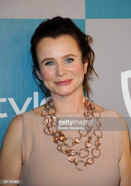 Actress Emily Watson arrives at 13th Annual Warner Bros And InStyle Golden Globe Awards After Party at The Beverly Hilton hotel on January 15 2012 in...