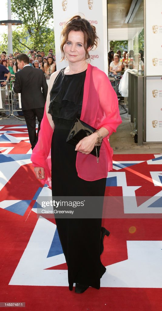 Actress Emily Watson attends The Arqiva British Academy Television Awards 2012 at The Royal Festival Hall on May 27, 2012 in London, England.