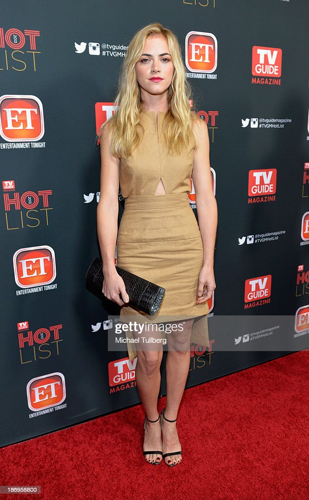 Actress Emily Wickersham attends TV Guide Magazine's Annual Hot List Party at The Emerson Theatre on November 4, 2013 in Hollywood, California.