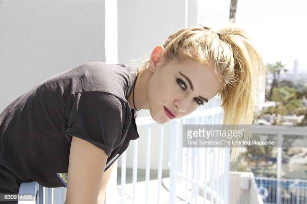 Actress Emily Wickersham is photographed for The Untitled Magazine on September 15 2016 in Los Angeles California PUBLISHED IMAGE CREDIT MUST READ...