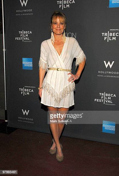 Actress Emma Caulfield arrives at 2010 Tribeca Film Festival program and launch party at W Hollywood on March 23 2010 in Hollywood California