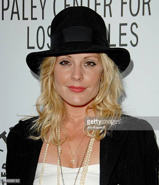 Actress Emma Caulfield arrives at the 'Buffy Reunion' presented by the 25th Annual William S Paley Television Festival on March 20 2008 in Los...