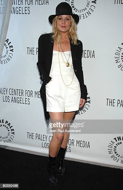 Actress Emma Caulfield arrives at the 'Buffy The Vampire Slayer' reunion part of the 25th annual William S Paley Television Festival held at the...