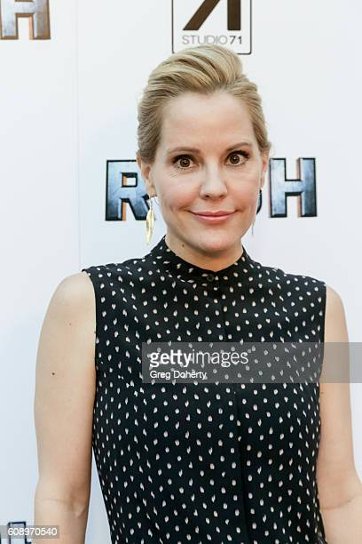 Actress Emma Caulfield arrives for the Premiere Of Studio 71's 'Rush Inspired By Battlefield' at the ArcLight Hollywood on September 19 2016 in...