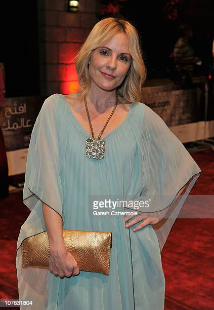 Actress Emma Caulfield attends the 'Cairo Exit' premiere during day five of the 7th Annual Dubai International Film Festival held at the Madinat...