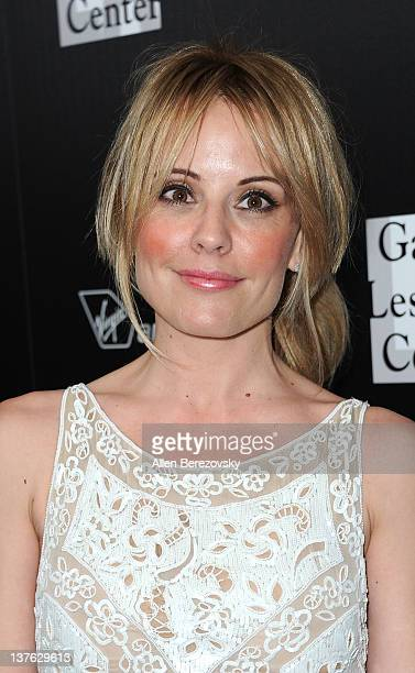 Actress Emma Caulfield attends the Los Angeles Gay and Lesbian Center's homeless youth services benefit event honoring Rachel Zoe at Sunset Tower on...