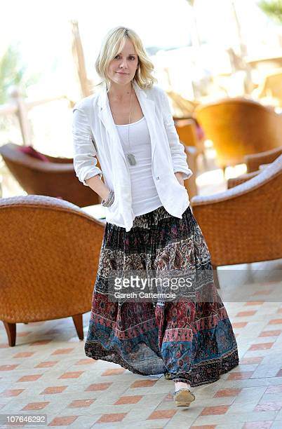 Actress Emma Caulfield during a portrait session at the 7th Annual Dubai International Film Festival held at the Madinat Jumeriah Complex on December...