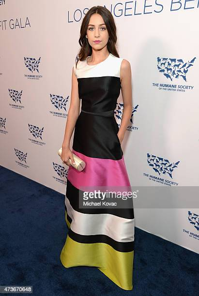 Actress Emma Fuhrmann attends The Humane Society Of The United States' Los Angeles Benefit Gala at the Beverly Wilshire Hotel on May 16 2015 in...