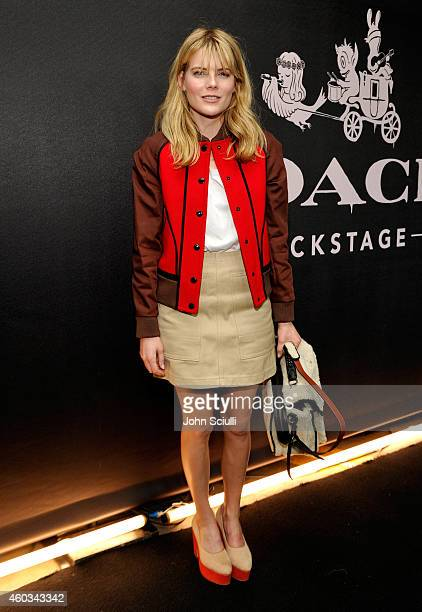 Actress Emma Greenwell attends Coach Backstage Rodeo Drive on December 11 2014 in Beverly Hills California