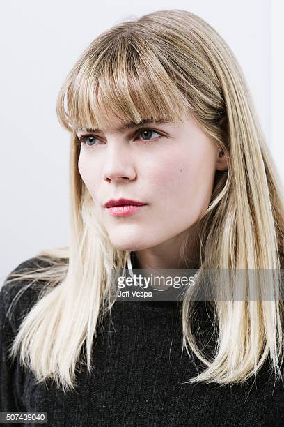 Actress Emma Greenwell of 'Love Friendship poses for a portrait at the 2016 Sundance Film Festival on January 23 2016 in Park City Utah