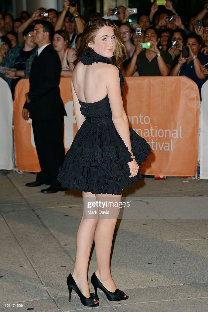 Actress Emma Holzer attends the 'What Maisie Knew' premiere during the 2012 Toronto International Film Festival at Roy Thomson Hall on September 7, 2012 in Toronto, Canada.