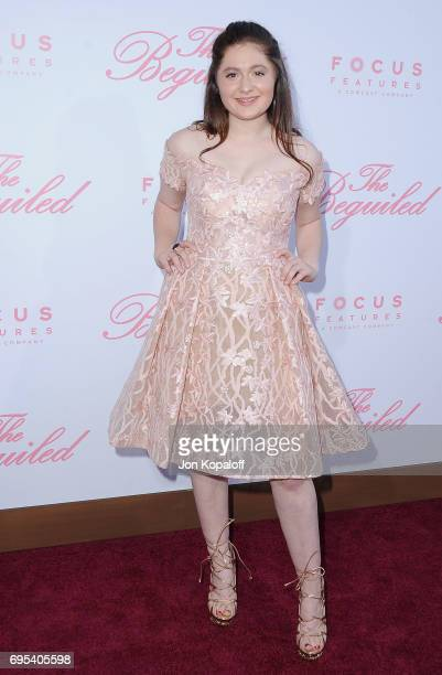 Actress Emma Kenney arrives at the US Premiere Of 'The Beguiled' at Directors Guild Of America on June 12 2017 in Los Angeles California