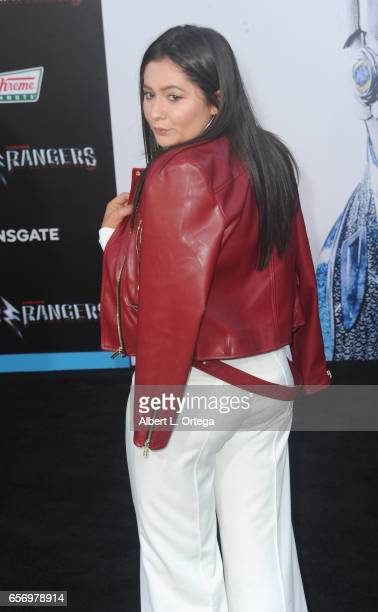 Actress Emma Kenney arrives for the Premiere Of Lionsgate's 'Power Rangers' held on March 22 2017 in Westwood California