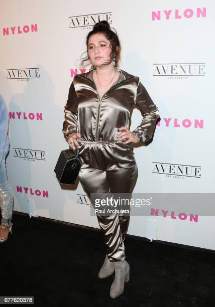 Actress Emma Kenney attends NYLON's annual Young Hollywood May issue event with cover Star Rowan Blanchard at Avenue on May 2 2017 in Los Angeles...