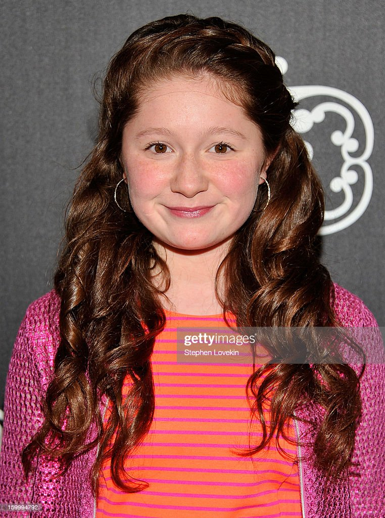Actress Emma Kenney attends the L'Amour by Nanette Lepore for JCPenney launch party at Good Units at Hudson Hotel on January 24, 2013 in New York City.