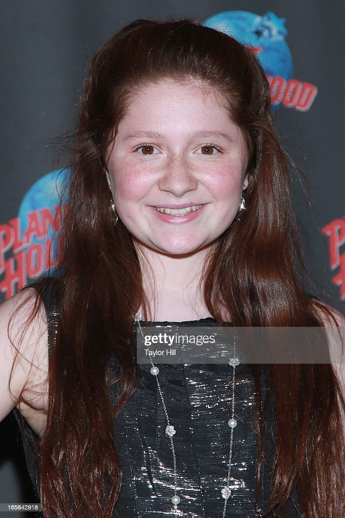 Actress Emma Kenney visits Planet Hollywood Times Square on April 5, 2013 in New York City.