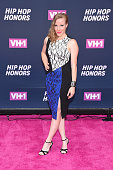 Actress Emma Myles attends the VH1 Hip Hop Honors All Hail The Queens at David Geffen Hall on July 11 2016 in New York City