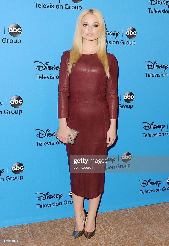 Actress Emma Rigby arrives at the Disney/ABC Party 2013 Television Critics Association's Summer Press Tour at The Beverly Hilton Hotel on August 4, 2013 in Beverly Hills, California.