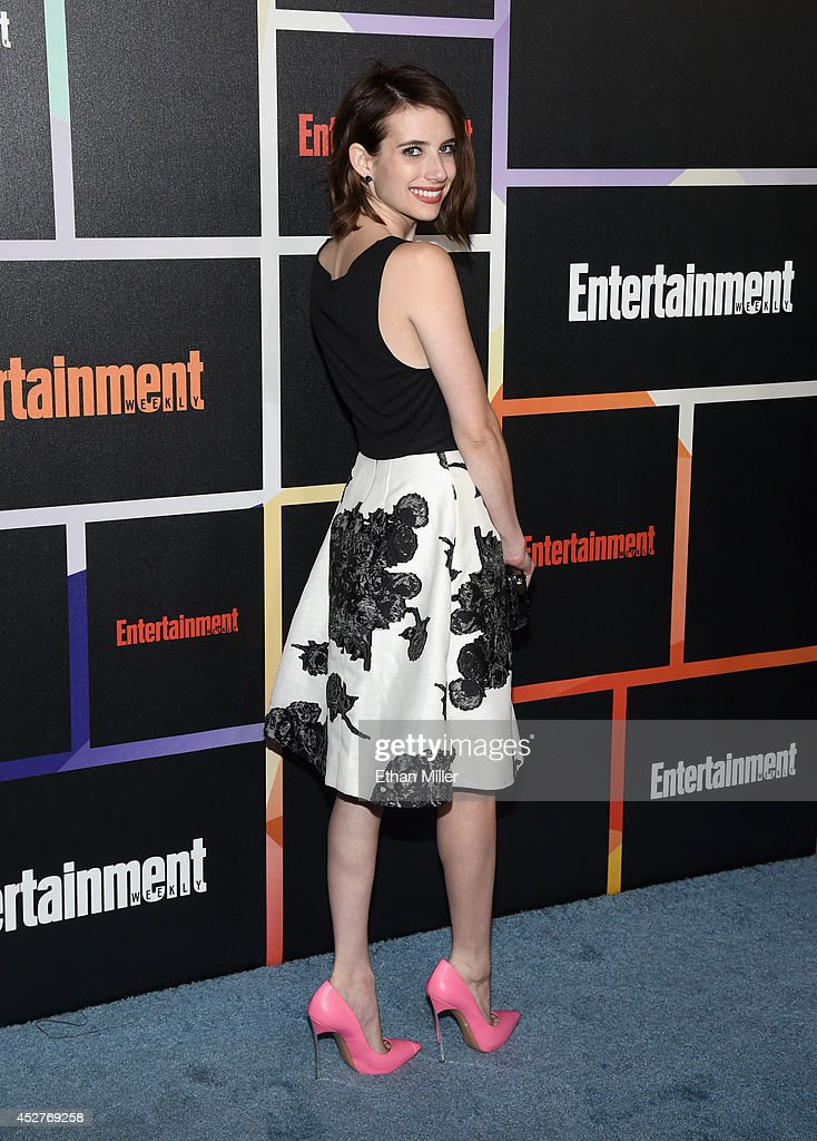 Actress Emma Roberts attends Entertainment Weekly's annual Comic-Con celebration at Float at Hard Rock Hotel San Diego on July 26, 2014 in San Diego, California.