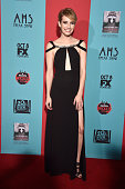 Actress Emma Roberts attends FX's 'American Horror Story Freak Show' premiere screening at TCL Chinese Theatre on October 5 2014 in Hollywood...