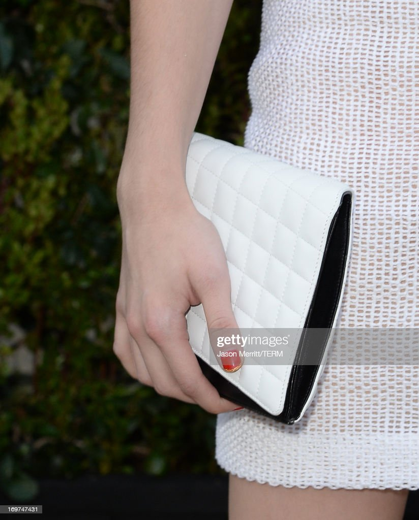 Actress Emma Roberts attends the CHANEL Dinner For NRDC 'A Celebration Of Art, Nature And Technology' held at a private residence on May 31, 2013 in Los Angeles, California.