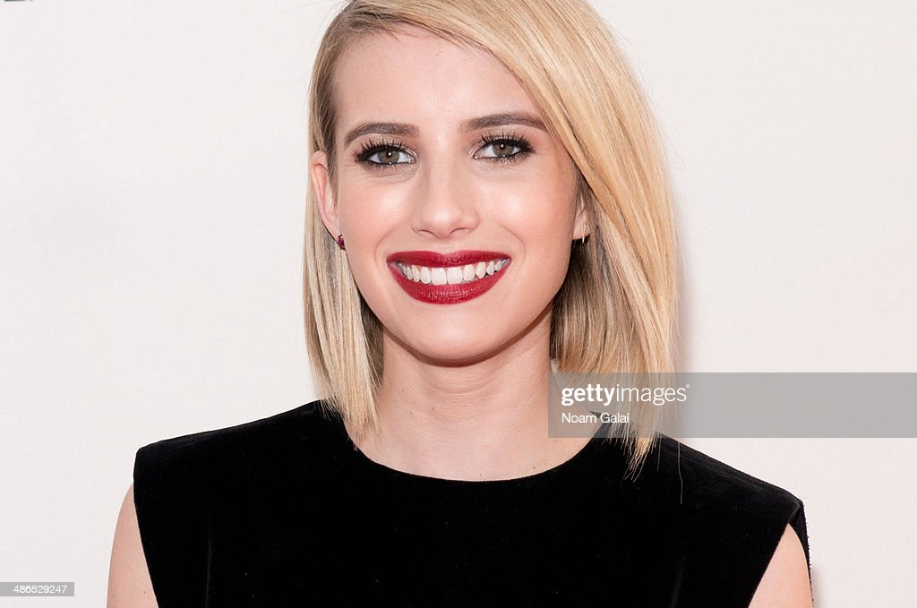 Actress <a gi-track='captionPersonalityLinkClicked' href=/galleries/search?phrase=Emma+Roberts&family=editorial&specificpeople=226535 ng-click='$event.stopPropagation()'>Emma Roberts</a> attends the premiere of 'Palo Alto' during the 2014 Tribeca Film Festival at SVA Theater on April 24, 2014 in New York City.