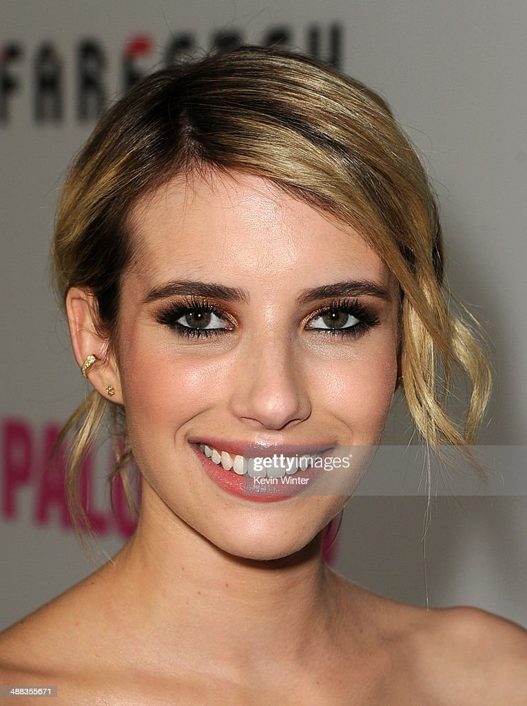 Actress Emma Roberts attends the premiere of Tribeca Film's 'Palo Alto' at the Directors Guild of America on May 5, 2014 in Los Angeles, California.