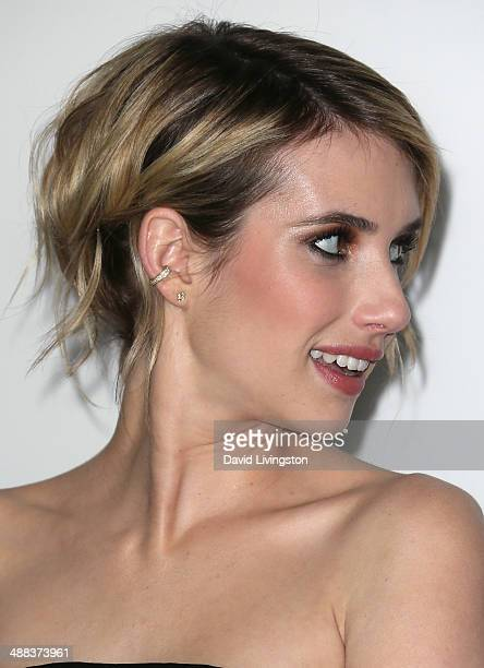 Actress Emma Roberts attends the premiere of Tribeca Film's 'Palo Alto' at the Directors Guild of America on May 5 2014 in Los Angeles California
