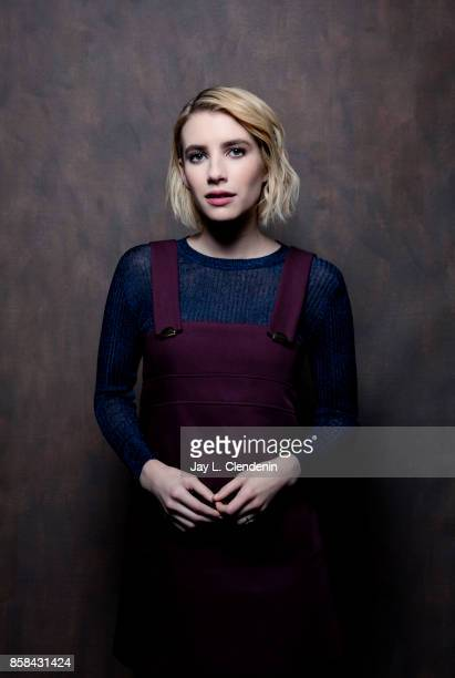 Actress Emma Roberts from the film 'Who We are Now' poses for a portrait at the 2017 Toronto International Film Festival for Los Angeles Times on...