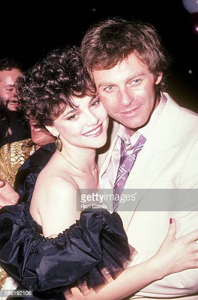 Actress Emma Samms and actor Tristan Rogers attend the 'General Hospital' 20th Anniversary Celebration on April 29 1983 at Century Plaza Hotel in...