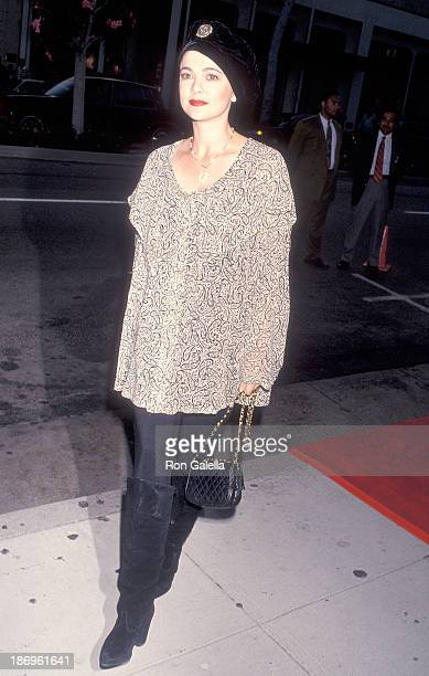 Actress Emma Samms attends the Bally of Switzerland Grand Opening Celebration to Benefit the Starlight Children's Foundation on September 14 1993 at...