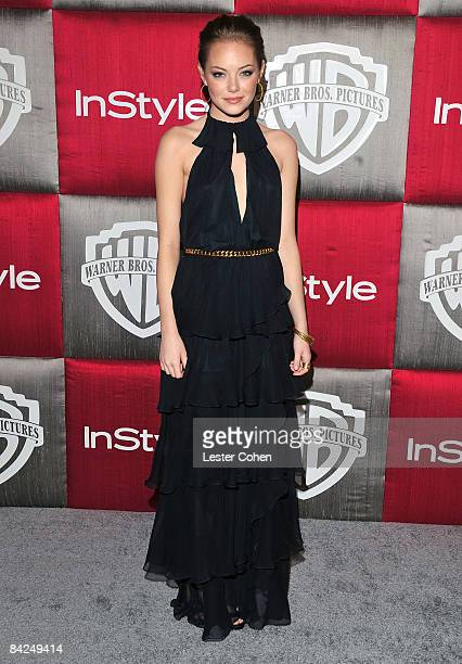 Actress Emma Stone arrives at the InStyle/Warner Bros after party for the 66th Annual Golden Globe Awards held at the Beverly Hilton Hotel on January...