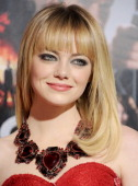 Actress Emma Stone arrives at the Los Angeles premiere of 'Gangster Squad' at Grauman's Chinese Theatre on January 7 2013 in Hollywood California