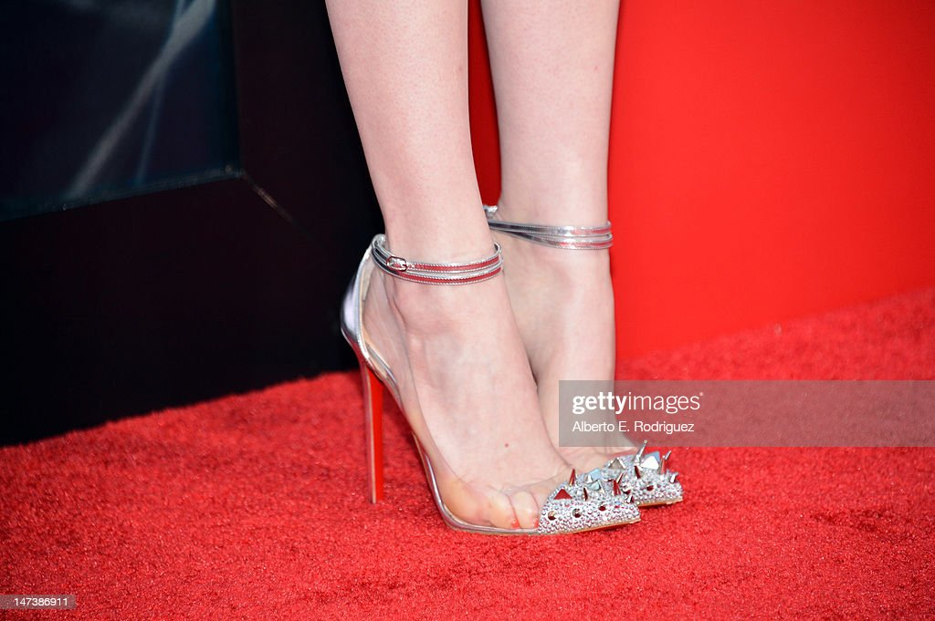 Actress Emma Stone arrives at the premiere of Columbia Pictures' 'The Amazing Spider-Man' at the Regency Village Theatre on June 28, 2012 in Westwood, California.