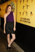 Actress Emma Stone attends MTV's 'Total Request Live' at MTV studios on August 18 2008 in New York City