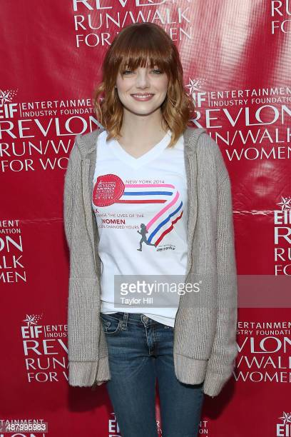 Actress Emma Stone attends the 17th Annual Revlon Run/Walk For Women on May 3 2014 in New York City