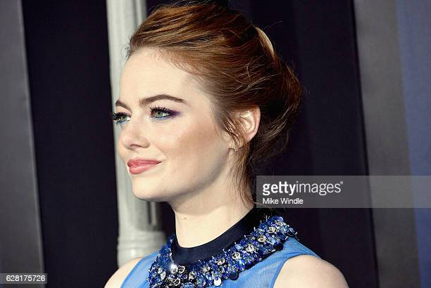 Actress Emma Stone attends the premiere of Lionsgate's 'La La Land' at Mann Village Theatre on December 6 2016 in Westwood California