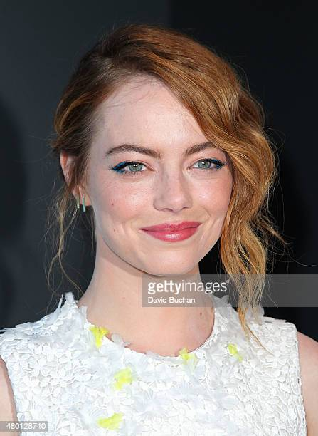 Actress Emma Stone attends the Premiere of Sony pictures Classics' 'Irrational Man' on July 9 2015 in Los Angeles California