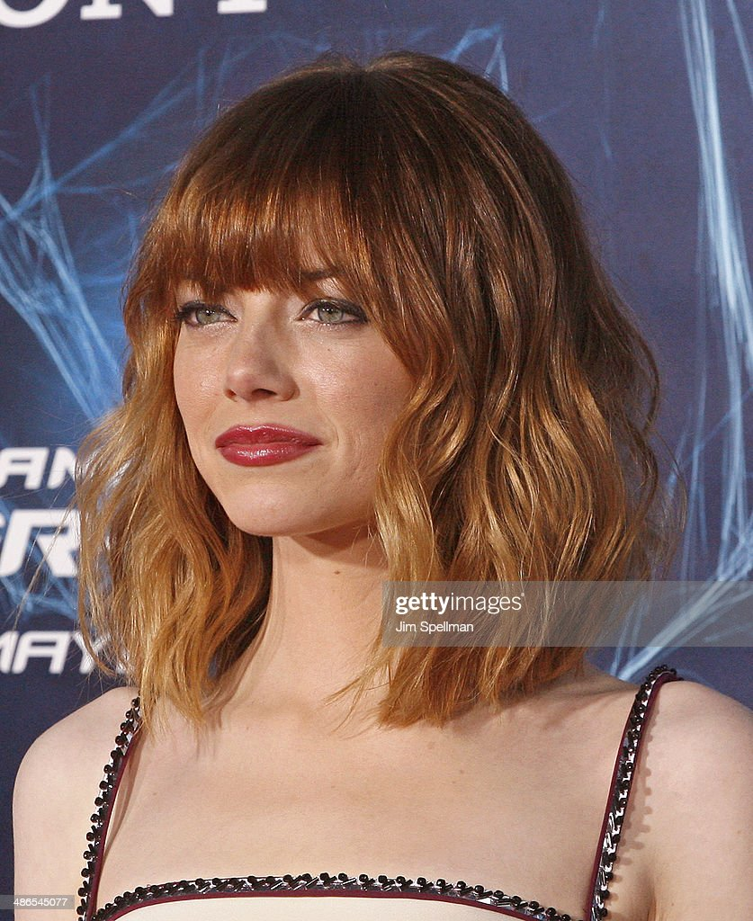 Actress <a gi-track='captionPersonalityLinkClicked' href=/galleries/search?phrase=Emma+Stone&family=editorial&specificpeople=672023 ng-click='$event.stopPropagation()'>Emma Stone</a> attends the 'The Amazing Spider-Man 2' New York Premiere on April 24, 2014 in New York City.