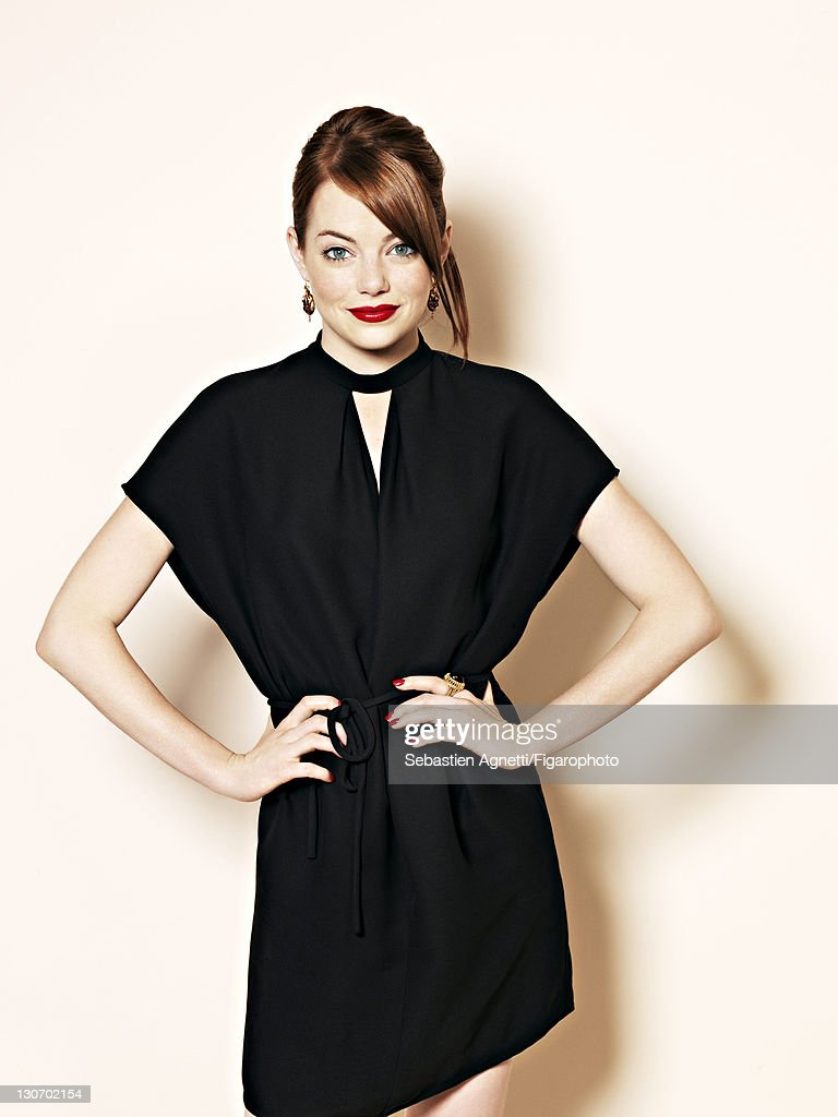 Actress Emma Stone is photographed for Madame Figaro on September 1, 2011 in Paris, France. Figaro