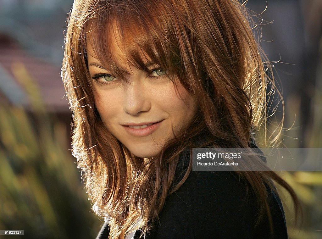 Actress Emma Stone photographed in Los Angeles on April 23, 2009 for the Los Angeles Times.