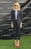 Actress Emma Stone poses at 'The Amazing Spiderman 2' Los Angeles Photo Call at Sony Pictures Studios on November 16 2013 in Culver City California