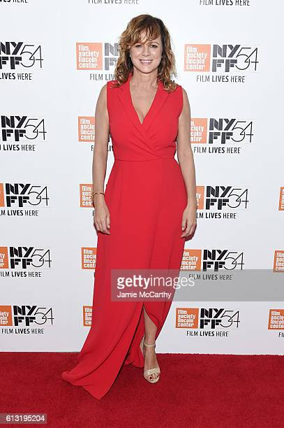 Actress Emma Suarez attends the 'Julieta' photo call during the 54th New York Film Festival at Alice Tully Hall on October 7 2016 in New York City