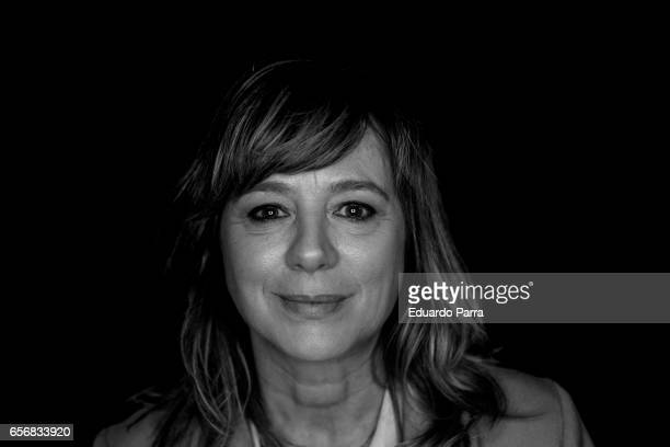 Actress Emma Suarez attends the 'La Zona' photocall at Q17 Studio on March 23 2017 in Madrid Spain