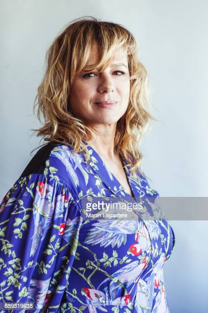 Actress Emma Suarez is photographed for Self Assignment on May 20 2017 in Cannes France