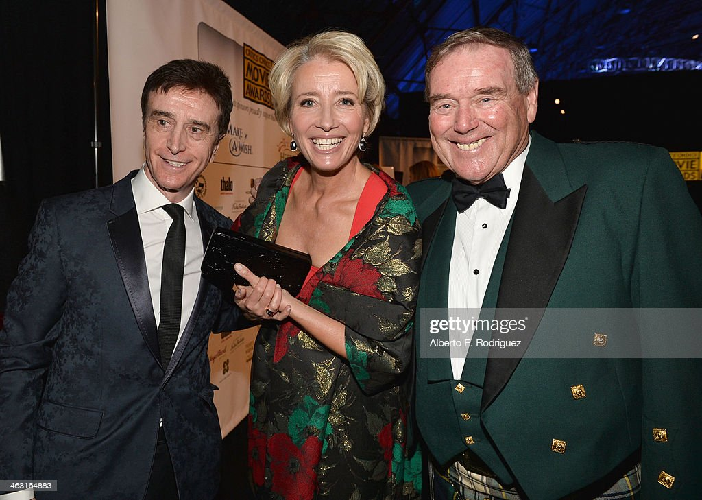 Actress <a gi-track='captionPersonalityLinkClicked' href=/galleries/search?phrase=Emma+Thompson&family=editorial&specificpeople=202848 ng-click='$event.stopPropagation()'>Emma Thompson</a> (C) attends 19th Annual Critics' Choice Movie Awards at Barker Hangar on January 16, 2014 in Santa Monica, California.