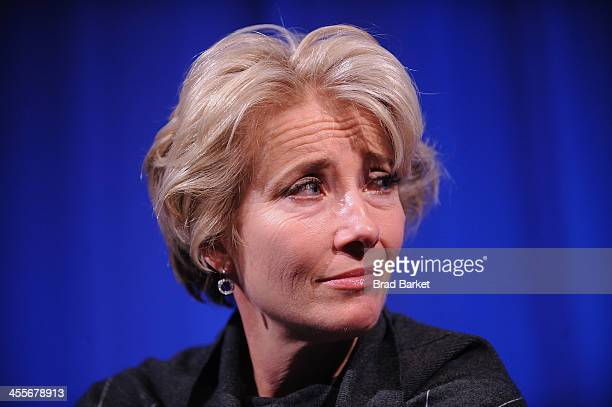 Actress Emma Thompson attends The Academy Of Motion Picture Arts And Sciences Hosts An Official Academy Members Screening Of 'Saving Mr Banks' at the...