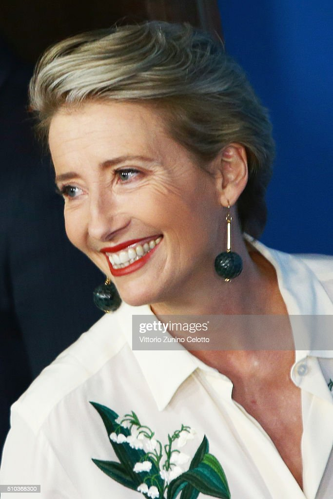 Actress <a gi-track='captionPersonalityLinkClicked' href=/galleries/search?phrase=Emma+Thompson&family=editorial&specificpeople=202848 ng-click='$event.stopPropagation()'>Emma Thompson</a> attends the 'Alone in Berlin' (Jeder stirbt fuer sich) photo call during the 66th Berlinale International Film Festival Berlin at Grand Hyatt Hotel on February 15, 2016 in Berlin, Germany.